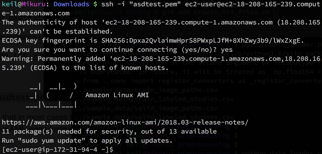 Up and Running with AWS EC2, S3, Linux and Deep Learning