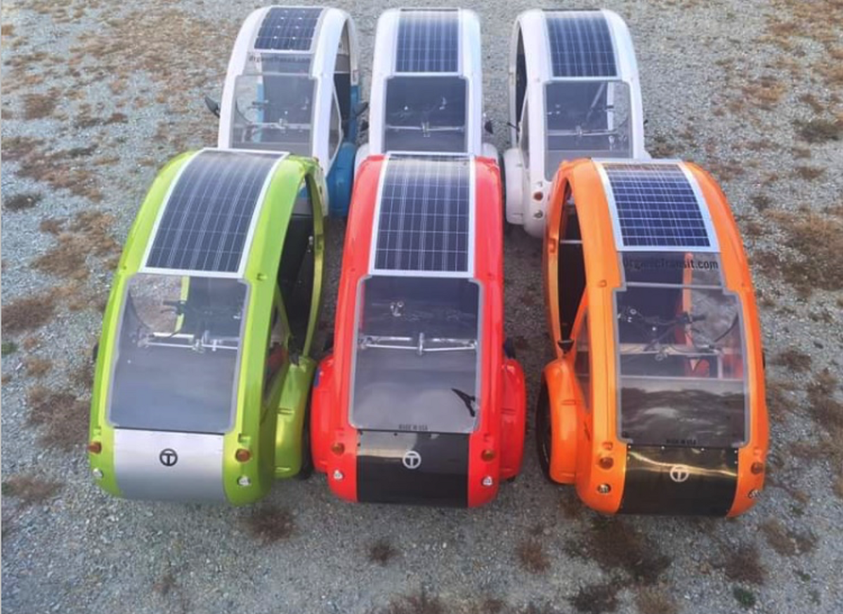 Want to Buy a Tested, Safe, Solar Micro-Vehicle Company that is already Cooling the Earth Daily and…