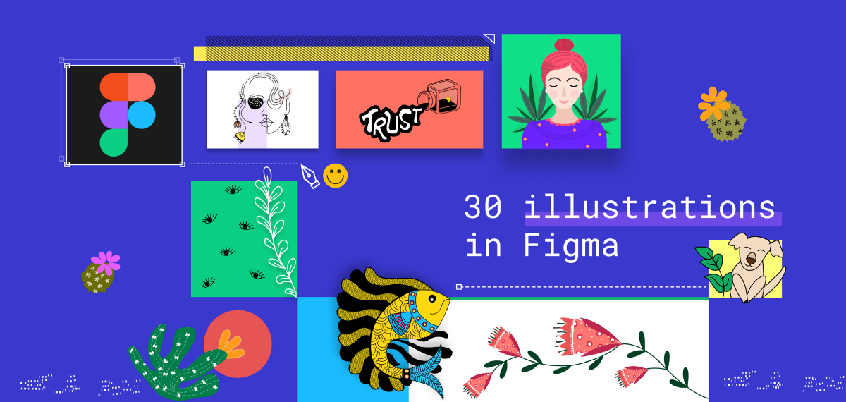 30 illustrations challenge in Figma