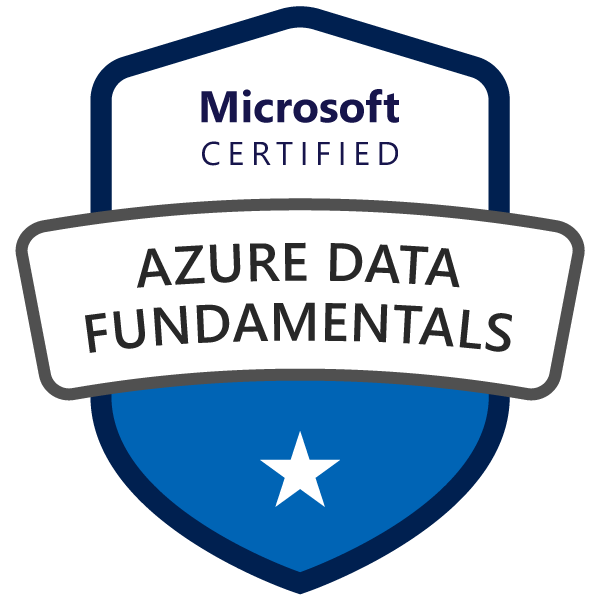 Learning path to gain necessary skills and to clear the Azure Data Fundamentals Certification. Exam DP-900.