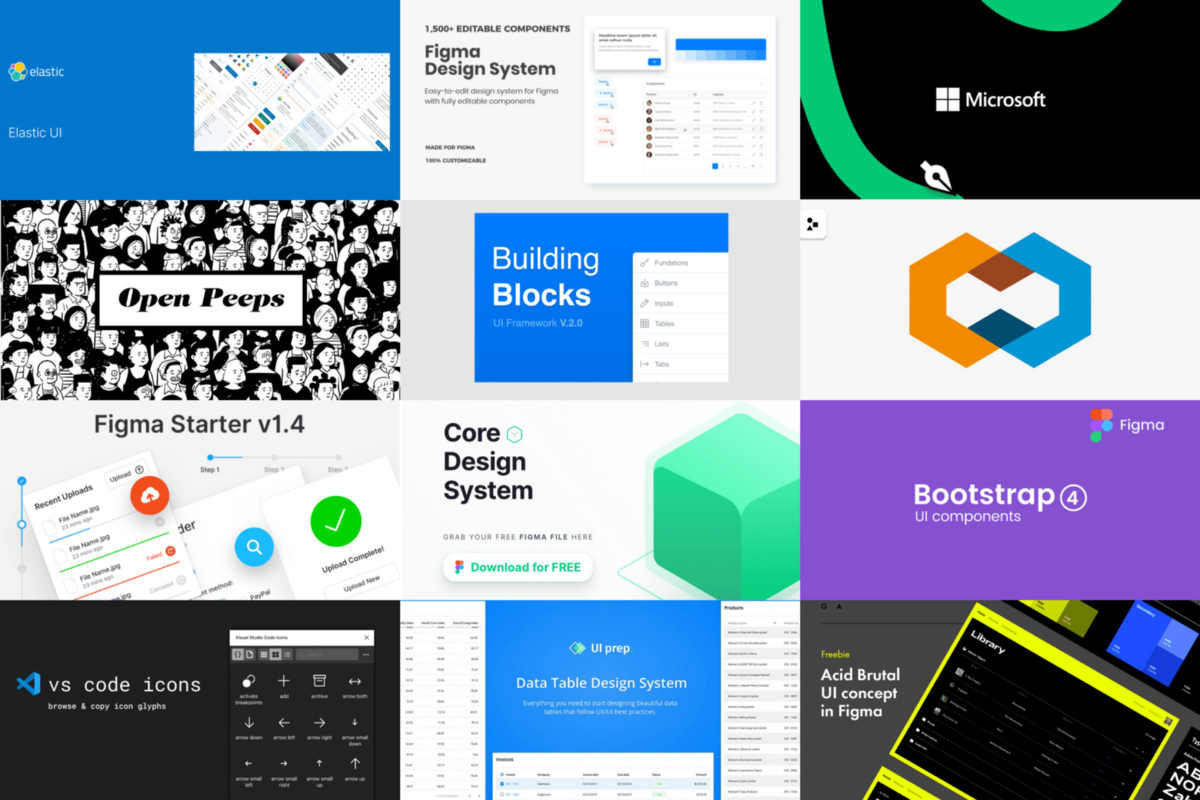 15 Latest Figma Resources From The Community By Roman Kamushken Ux Collective