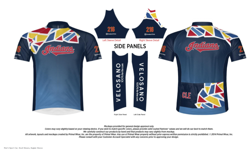 more photos ae573 ad4d4 Join the Cleveland Indians VeloSano Bike Team - TribeVibe