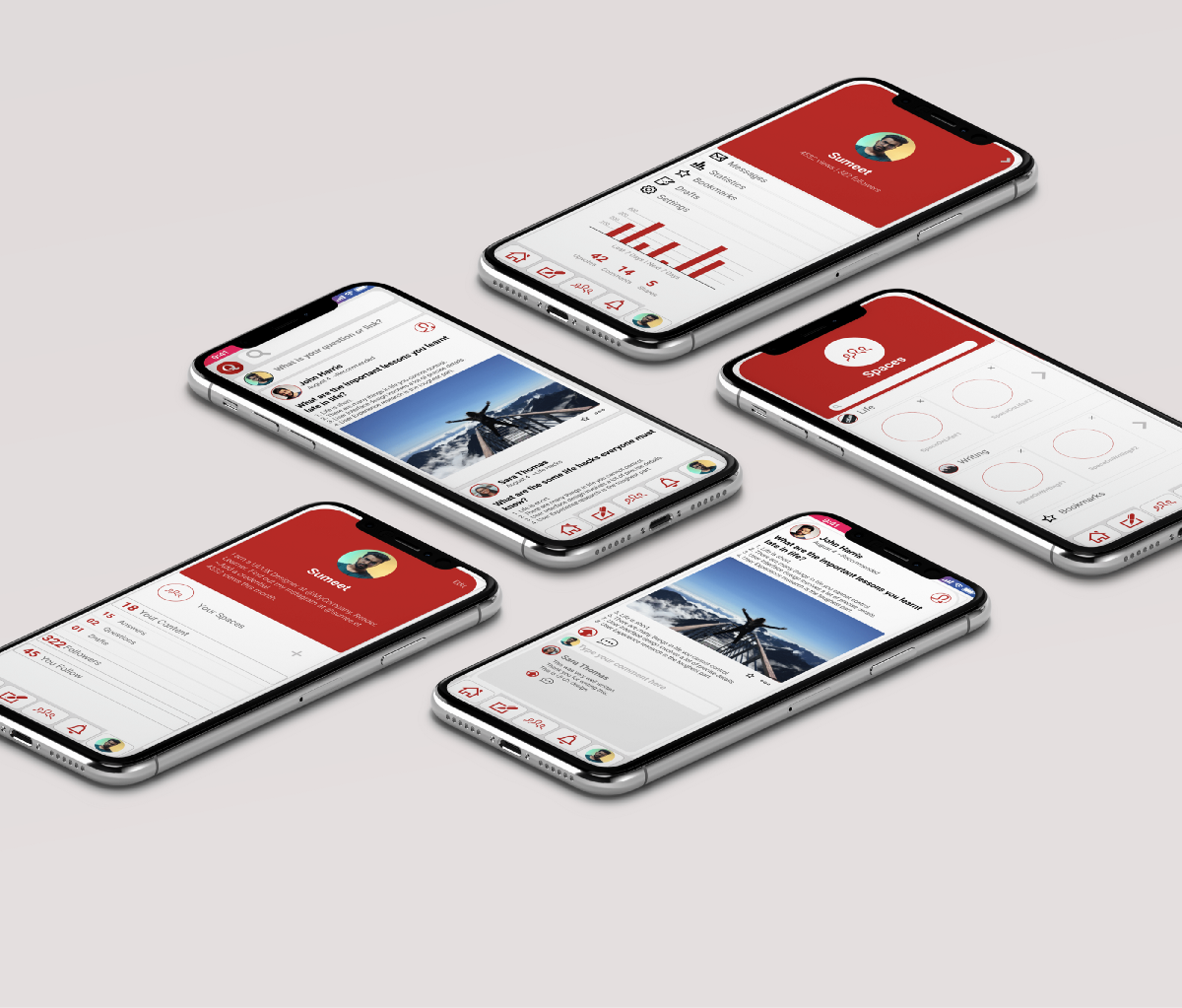 Redesigning The Quora App A Ui Case Study By Sumeet Ux Planet
