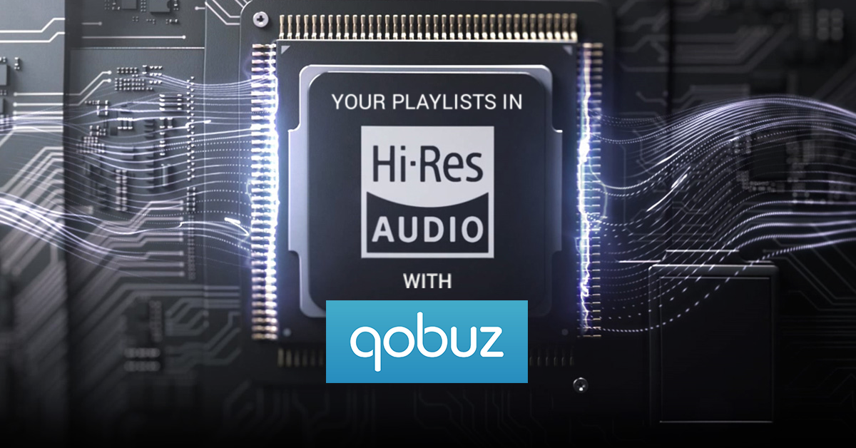 Your Soundsgood playlists now in High-Res with Qobuz