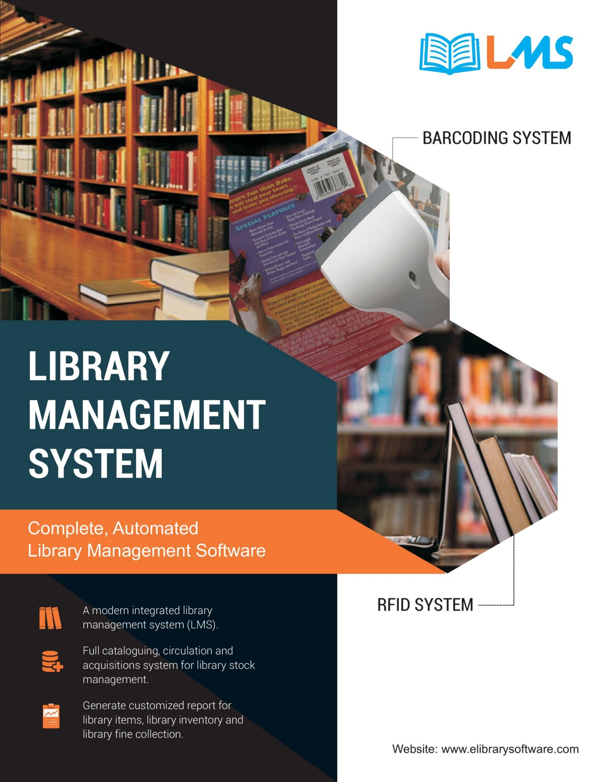 Latest Technology used in Library Management System
