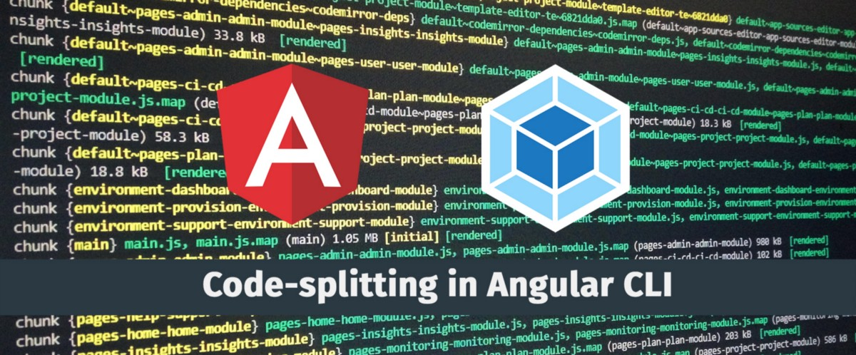 Angular code-splitting or how to share components between lazy modules