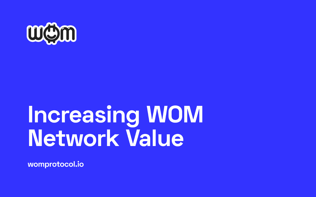 How WOM Is Increasing Network Value Through Incentivized Community Collaboration