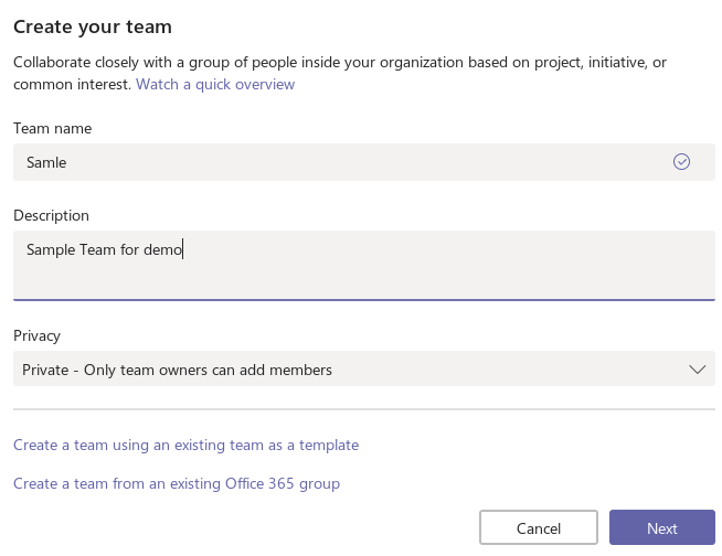 Get started with Microsoft Team Connectors (Incoming Webhook