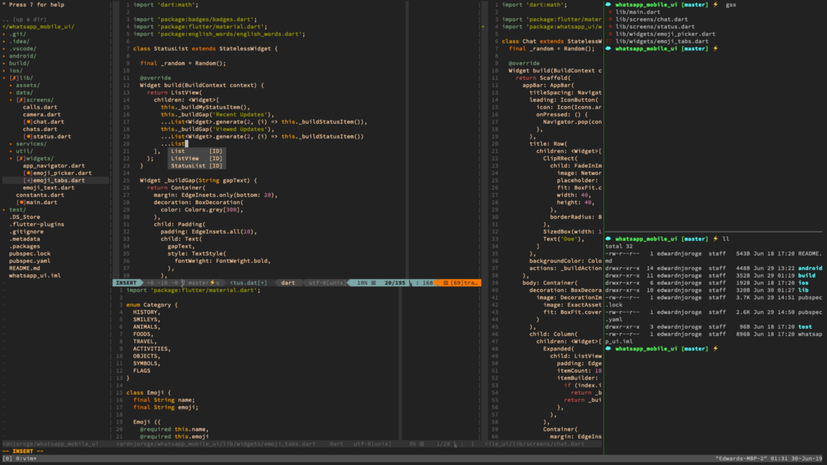 Configuring Vim and TMux to boost your productivity