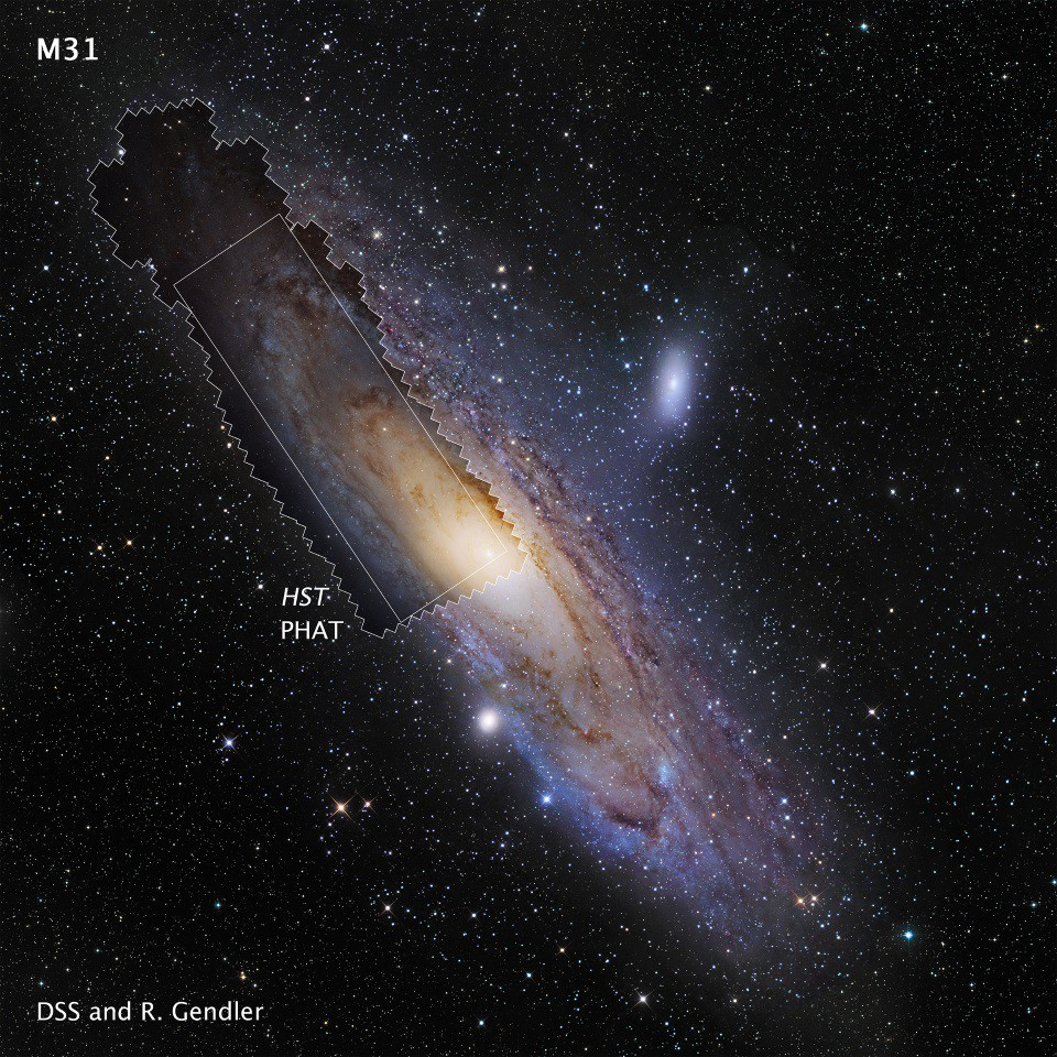 Hubble Andromeda Is Big Massive And Full Of The Stars Our Milky Way Is Missing By Ethan Siegel Starts With A Bang Medium