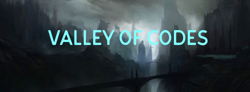 Passing through the valley of codes - House of Codes - Medium