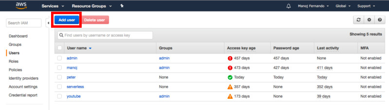 Configuring a HOME directory for IAM users on S3   IAM — AWS