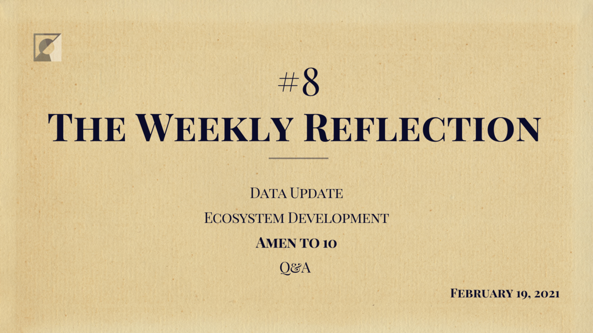 The Weekly Reflection #8