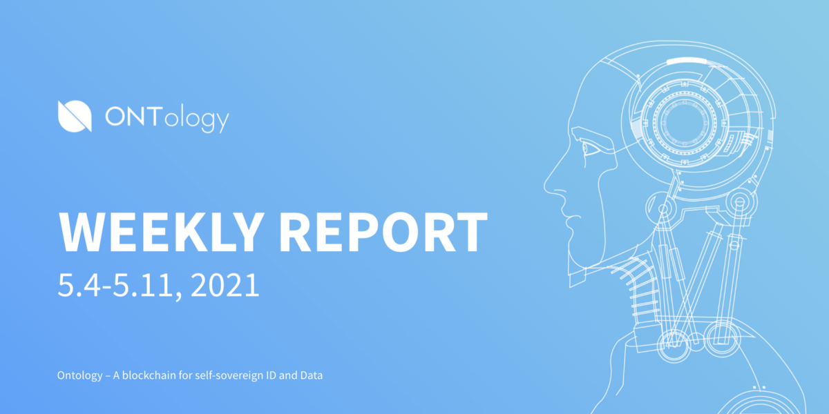 Ontology Weekly Report (May 4th–11th, 2021)