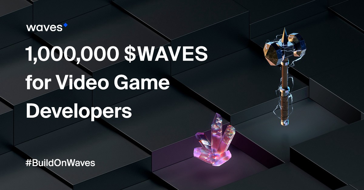 We Are Launching Gaming Project: One Million WAVES for Game Developers