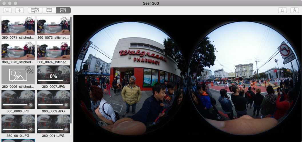 How to upload 360 photos from a Samsung Gear 360 to your Mac (and