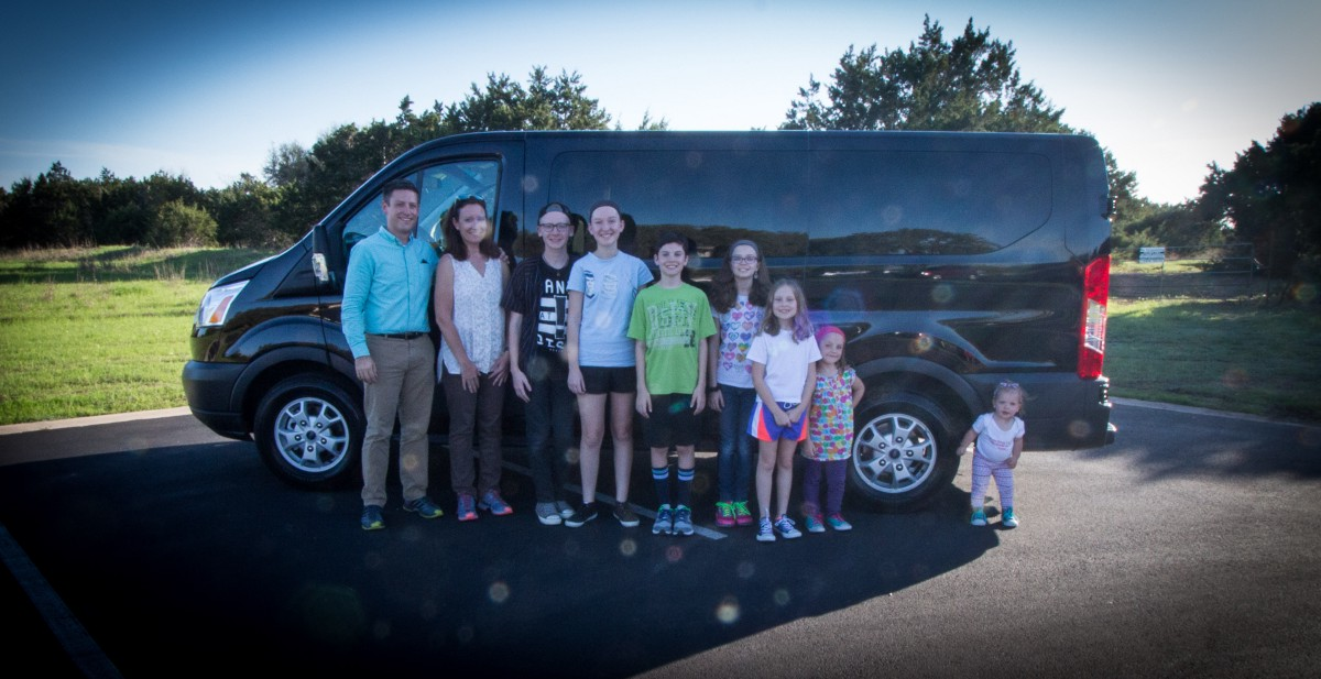 2017 Ford Transit Review: Large Family Edition - Marshall