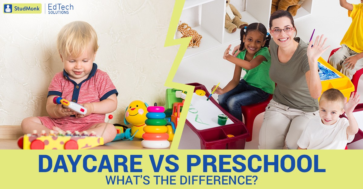 Difference between Childcare and Preschool | by StudMonk EdTech | StudMonk  EdTech | Medium