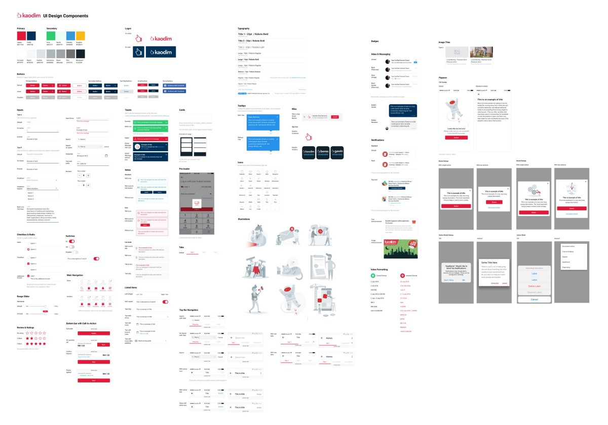 Disaster of designing without a style guide , UX Collective