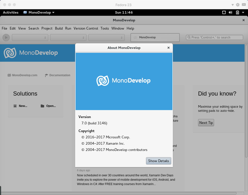 The Stupid Story of Installing MonoDevelop 7 - The Half-Blood Programmer