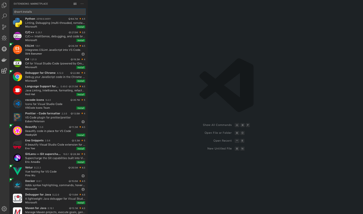 Best Chrome Extensions 2020.10 Visual Studio Code Extensions For Frontend Developers In 2020