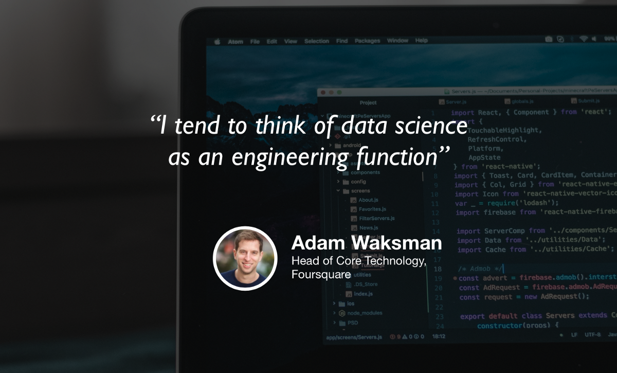 Data science is becoming software engineering
