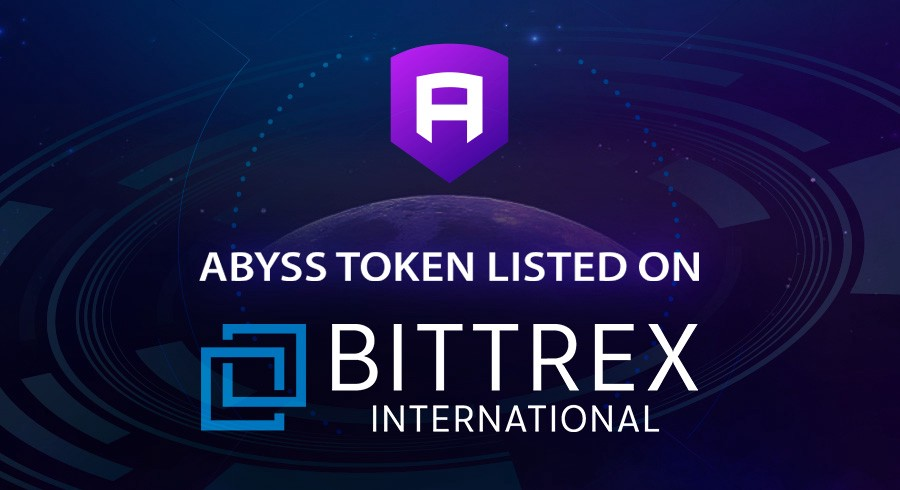 The Abyss Listed on Bittrex International - The Abyss