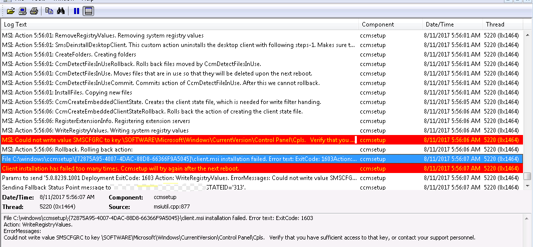 SCCM Client Fails to Install - Nathan Blasac - Notes from the Field