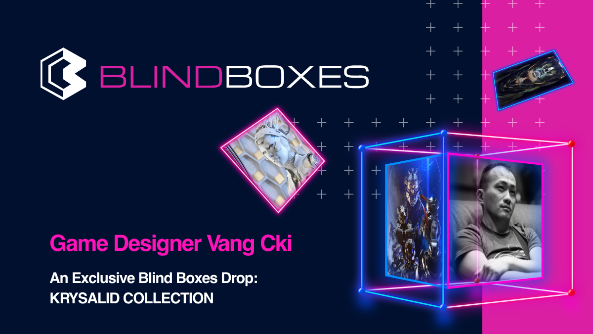 'Halo 2' Game Designer Vang Cki Drops His Futuristic Mech Collection On The Blind Boxes Marketplace