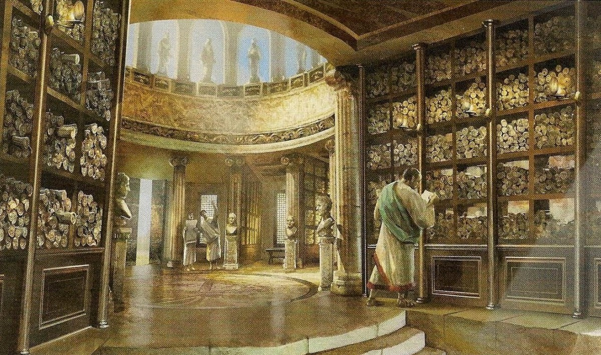 Library of Alexandria - myths and facts | History of Yesterday