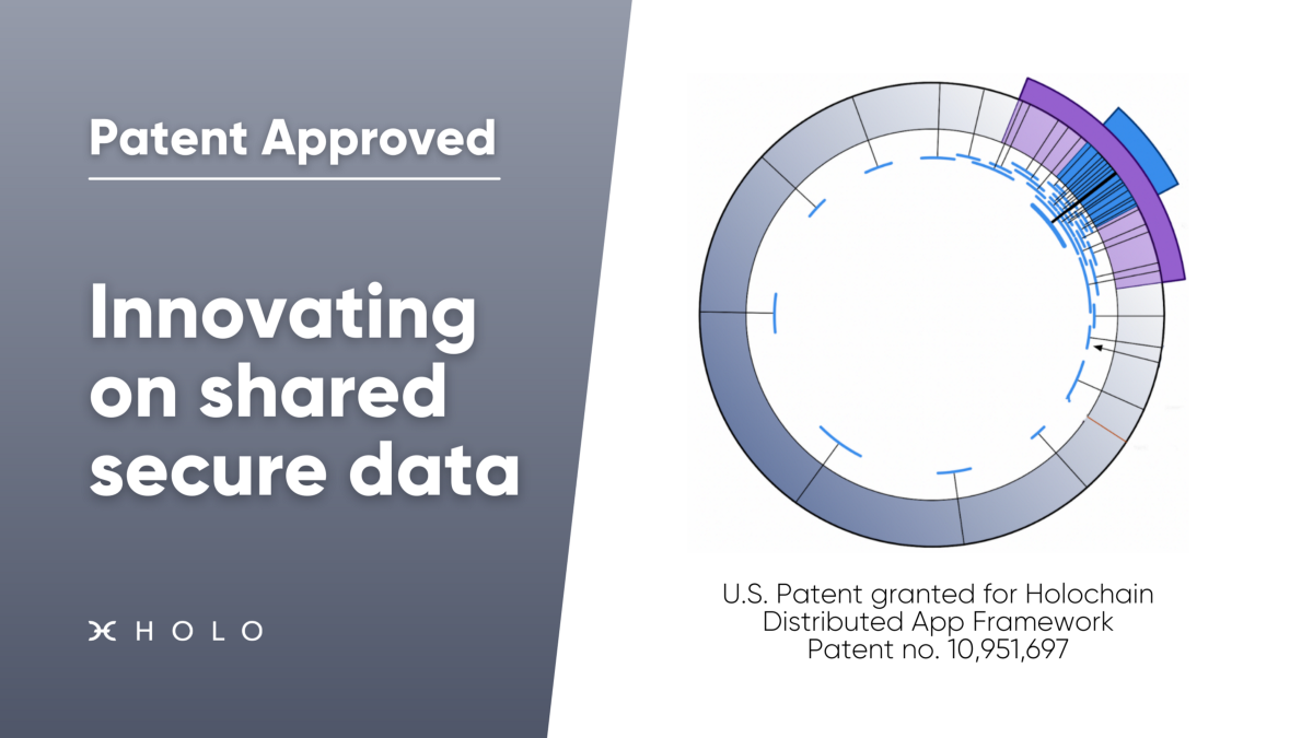 Press Release: U.S. Patent granted for Holochain Distributed App Framework