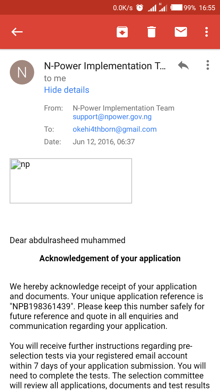 I applied last year on Npower Teach, but didn't received SMS for