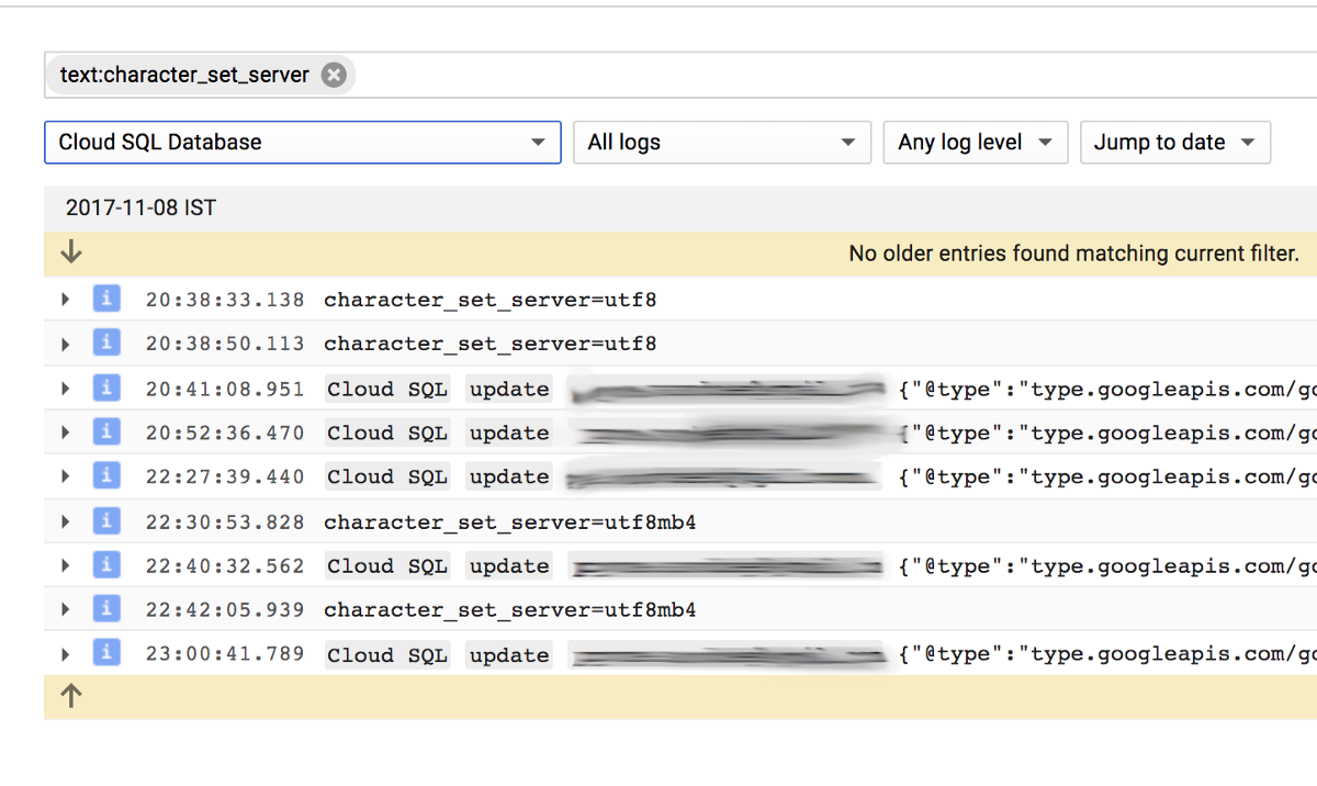 Enable Emojis in MySQL on Google Cloud - Google Cloud