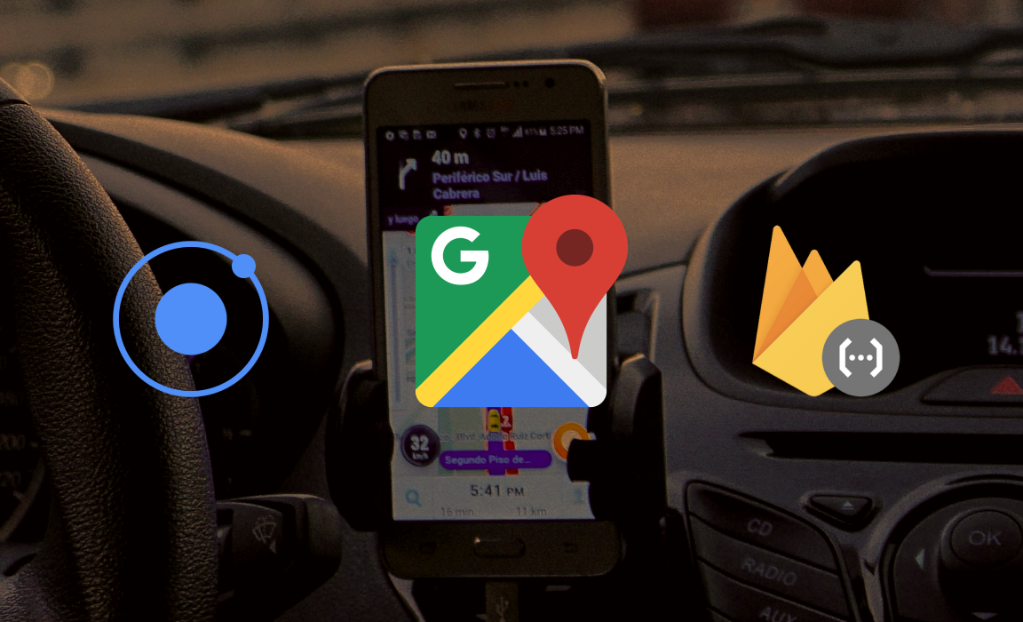 Building an Uber Like App with Ionic Series  (Part I)