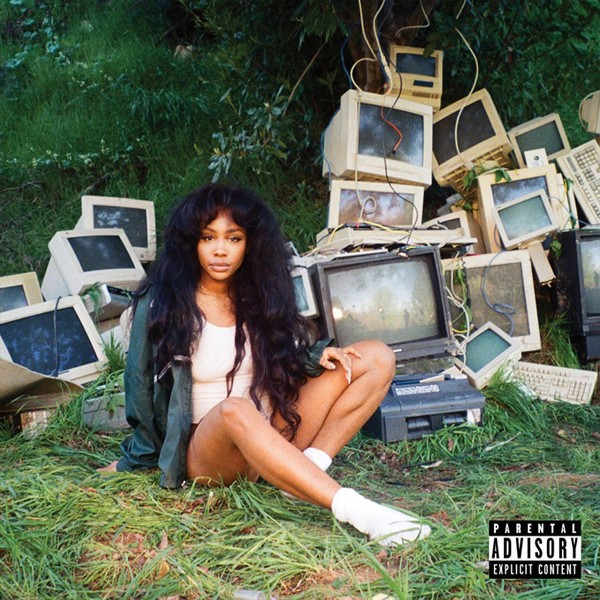 Cover of the album 'Ctrl' by SZA
