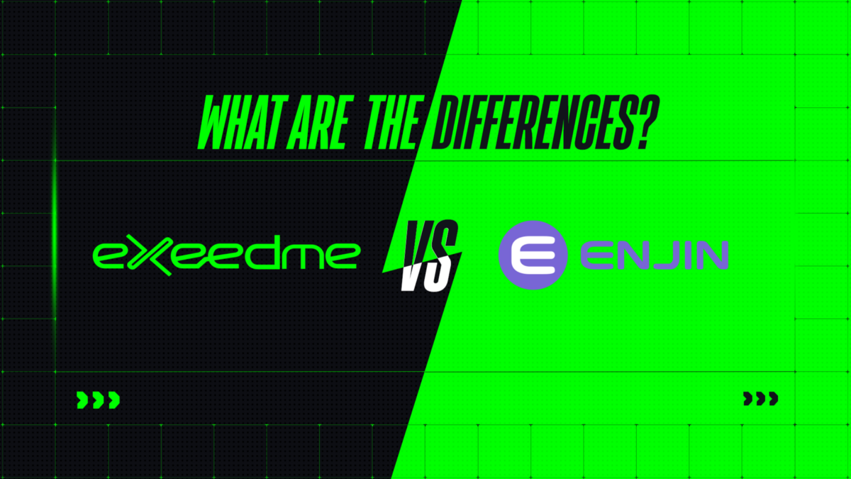 What are the differences between Enjin and Exeedme?