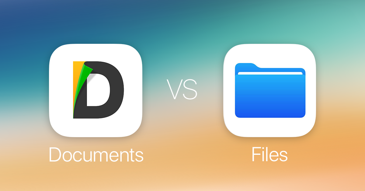Documents vs Files: Make the Most of Two Apps - Readdle Blog