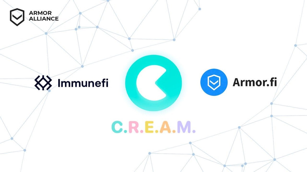 C.R.E.A.M. Finance Is Working With Immunefi, Armor.fi, and DeFiSafety to Bolster Protocol Security