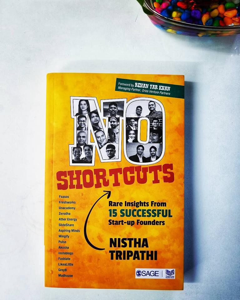 Book Review: No Shortcuts by Nistha Tripathi - Jayesh Gopalan - Medium