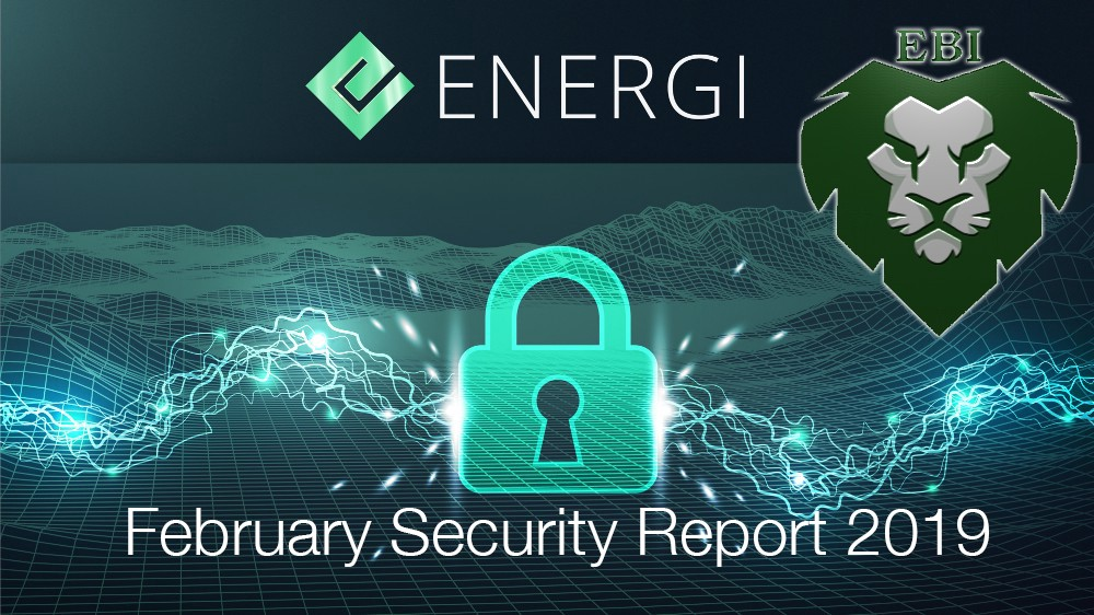 Energi Security Press Report — Masternode Scammer Identified Feb  2019