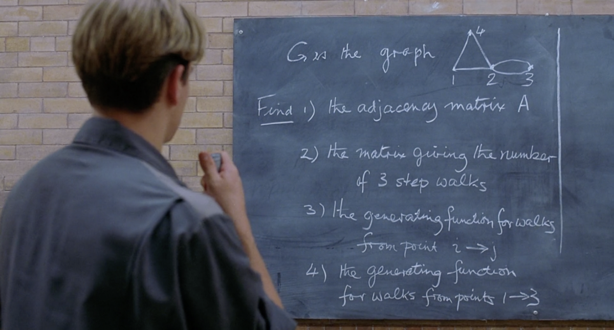 The Math Problems from Good Will Hunting, w/ solutions