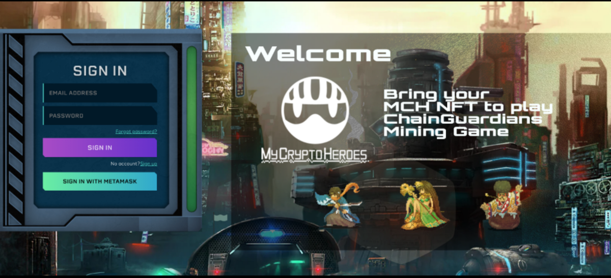 ChainGuardians Integrate MCH Assets into Bring Your Own Mining Game