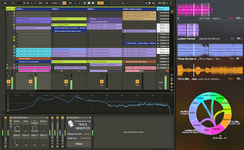 Voodoohop Harmony and Tempo Tools for Ableton Live - Thomas
