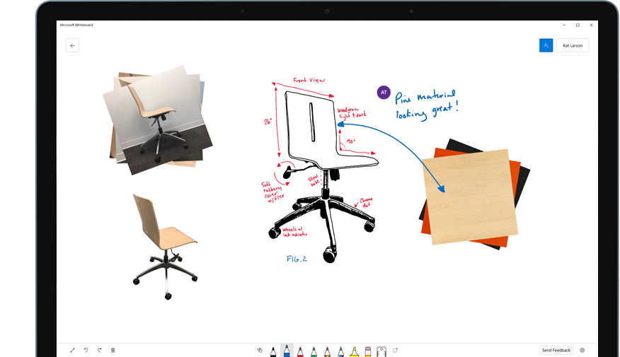 Microsoft Adds Free-form Digital Canvas to Office 365