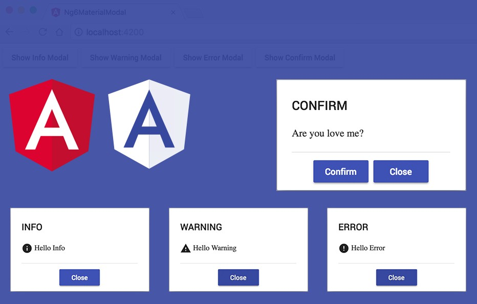 Angular6+Material+Modal Service - odds team - Medium