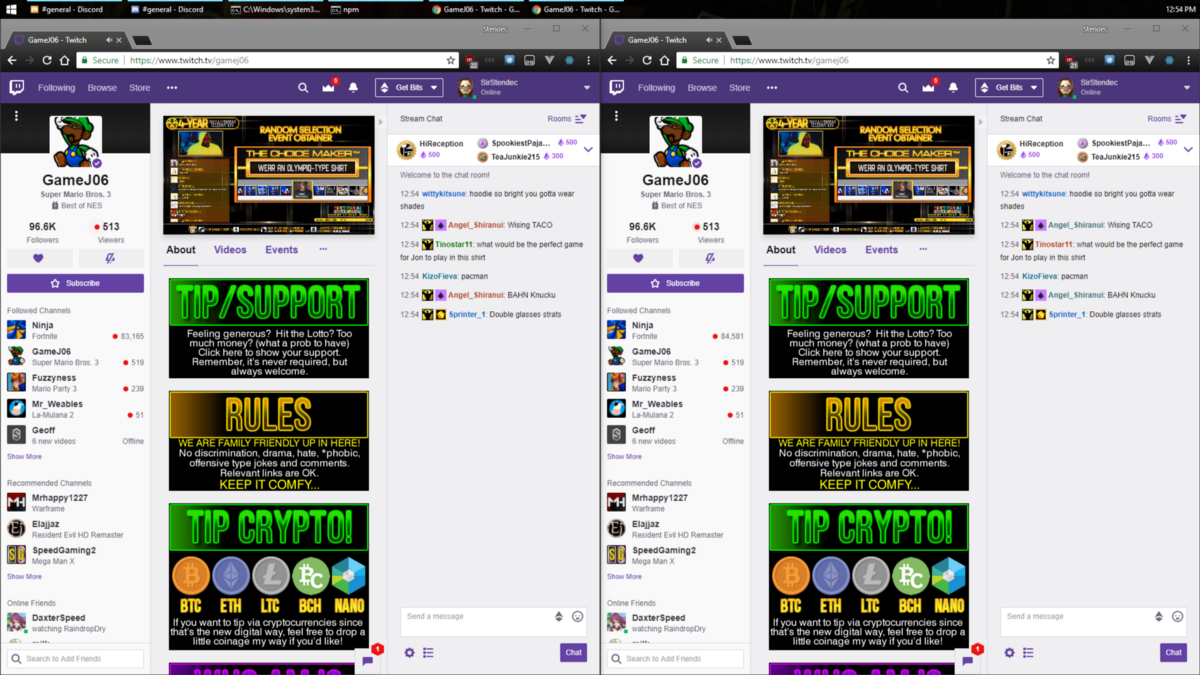 Twitch's New Channel Layout - Mike - Medium