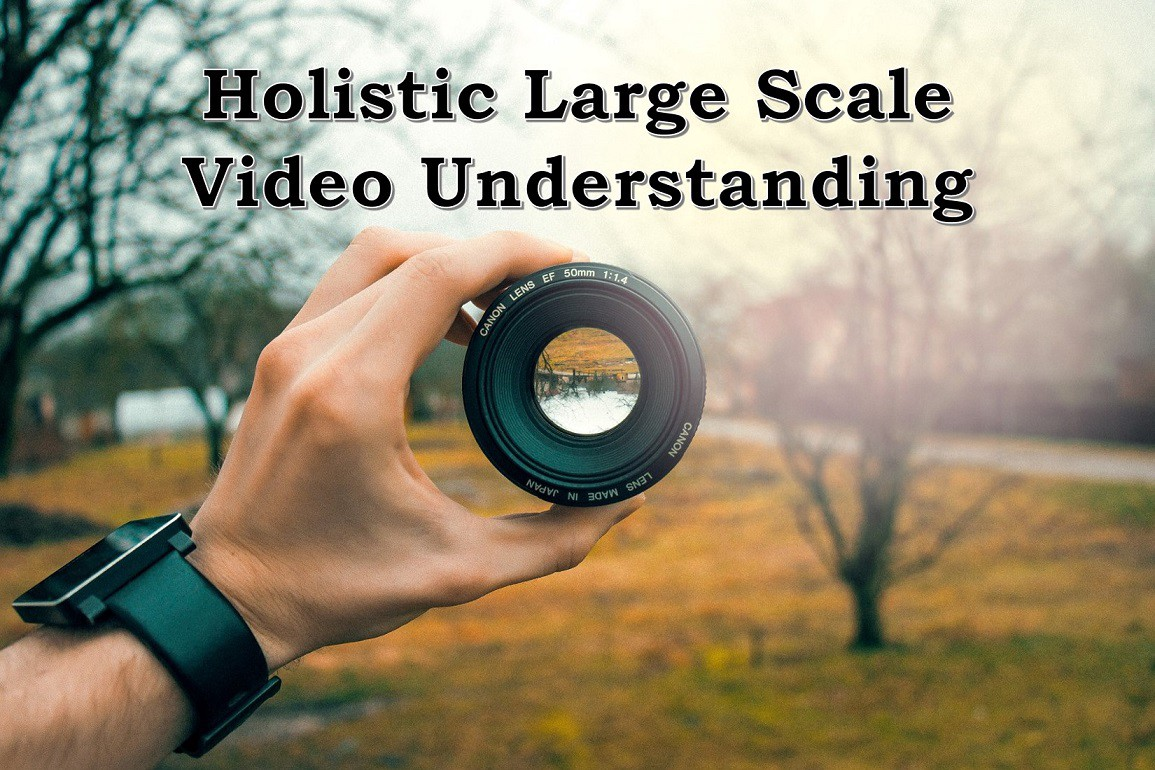 Holistic Large Scale Video Understanding