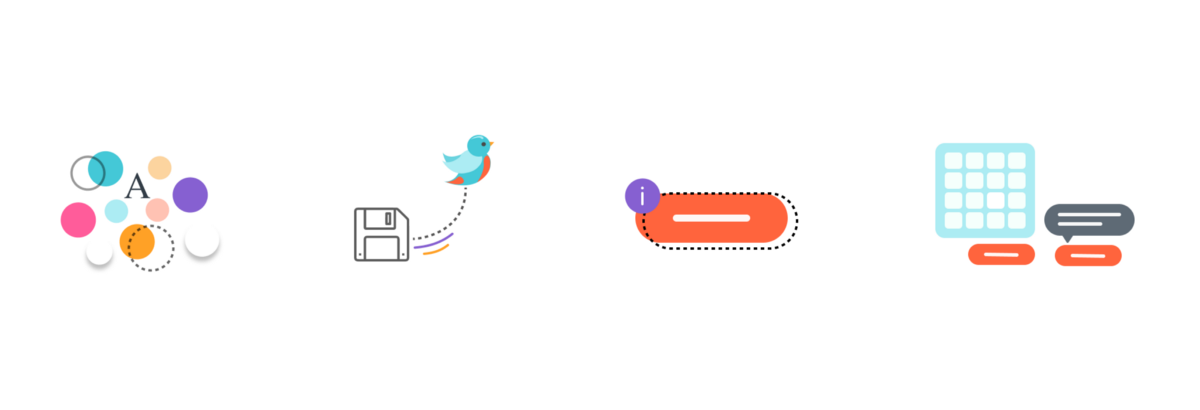 Understanding the parts of a Design System: Tokens, Assets, Components and Patterns