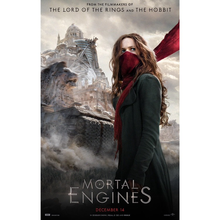 Mortal Engines is Peter Jackson, Fran Walsh, and Philippa