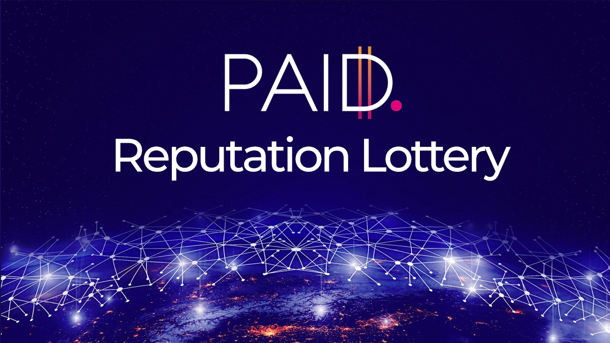 Introducing the PAID Reputation Lottery
